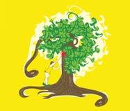 τέχνασμα μήλων Στοκ εικόνες με δικαίωμα ελεύθερης χρήσης