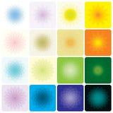 花卉几何 免版税图库摄影