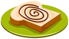 шоколад хлеба Стоковая Фотография RF