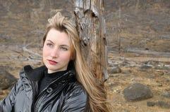 μαύρος ξανθός Στοκ Εικόνα