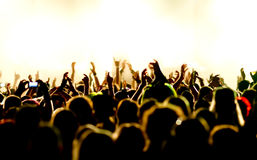 договоритесь толпа Стоковые Изображения RF