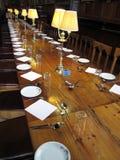 基督教会学院餐厅牛津 免版税库存照片