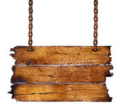 σημάδι ξύλινο Στοκ εικόνα με δικαίωμα ελεύθερης χρήσης