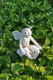 神仙的庭院雕象 库存图片