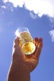 рука пива Стоковые Изображения