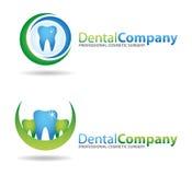 зубоврачебные логосы Стоковые Изображения