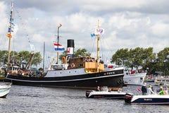 πανί παρελάσεων του Άμστε& Στοκ φωτογραφία με δικαίωμα ελεύθερης χρήσης