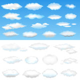 διάνυσμα σύννεφων Στοκ Φωτογραφία