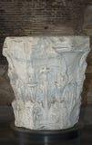 罗马资本的列 免版税库存图片