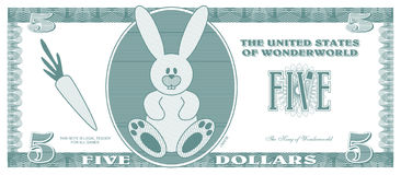πλαστά χρήματα Στοκ φωτογραφίες με δικαίωμα ελεύθερης χρήσης