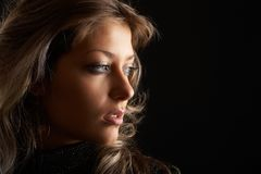 сексуальная женщина Стоковые Фото
