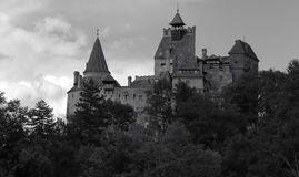 麸皮城堡罗马尼亚 免版税库存图片