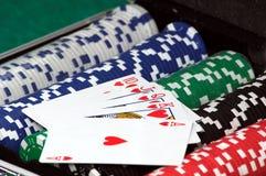 покер Стоковые Изображения