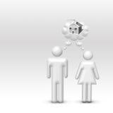 мечт дом Стоковая Фотография RF