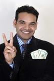 κάνετε τα χρήματα σε δύο τρό Στοκ εικόνα με δικαίωμα ελεύθερης χρήσης