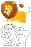 λιοντάρι Στοκ εικόνες με δικαίωμα ελεύθερης χρήσης