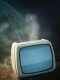 电视葡萄酒 免版税库存图片
