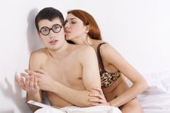 пары сексуальные Стоковая Фотография RF