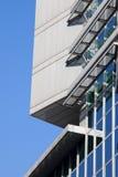 建立现代办公室的结构 免版税库存照片