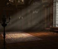 μπαρόκ εσωτερικό Στοκ φωτογραφία με δικαίωμα ελεύθερης χρήσης