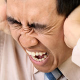 напряжение человека Стоковые Фотографии RF