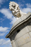 银行狮子南的伦敦 免版税库存图片