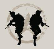战士 库存照片