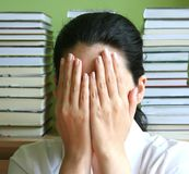 考试 免版税库存图片
