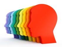 человек головок Стоковое Изображение RF