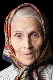 老妇人 免版税库存图片