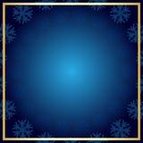 背景蓝色圣诞节 免版税库存照片