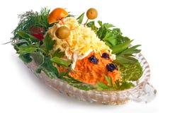 红萝卜沙拉 免版税图库摄影