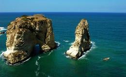 贝鲁特黎巴嫩风景 免版税库存照片