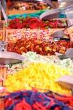 五颜六色的糖果 免版税库存图片