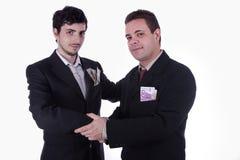 合作伙伴 免版税库存图片
