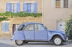 经典法国地方上的场面村庄 免版税库存图片