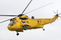 直升机国王抢救海运 库存图片