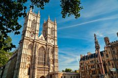 修道院伦敦威斯敏斯特 库存图片