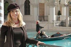 威尼斯式妇女 免版税库存图片
