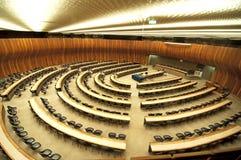 会议大厅 免版税库存图片