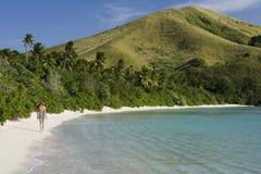 斐济热带假期 免版税库存照片
