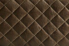 棕色皮革模式 免版税图库摄影