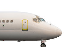 查出的喷气式飞机 库存照片