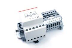 变压器电压 免版税库存照片
