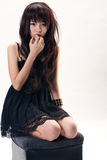 азиатская девушка сексуальная Стоковые Фотографии RF