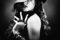 милая женщина Стоковые Изображения