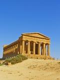 希腊语寺庙 库存照片