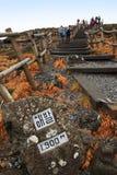 汉纳海岛火山济州韩国的山 免版税库存照片