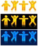 движение людей Стоковое Фото