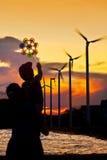 будущее энергии Стоковые Изображения